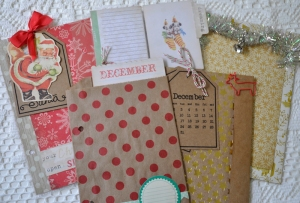 Christmas page samples