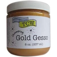 gesso-gold